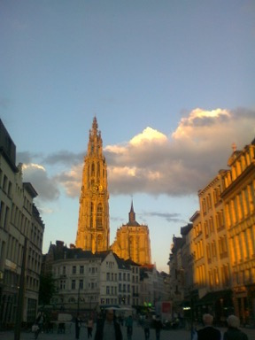 Walks in Antwerp